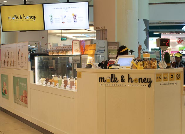 City Sq Mall Milk & Honey - Exterior