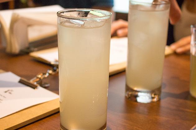 Uma Uma - yuzu cocktail