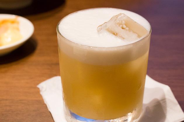 Uma Uma - whiskey sour