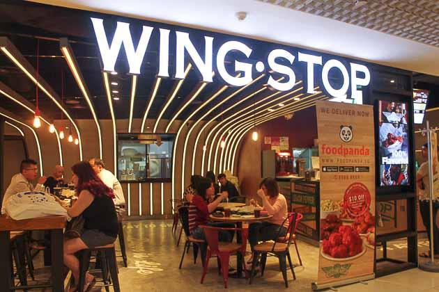 City Sq Mall - Wingstop Exterior