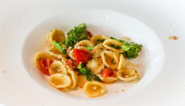 Zafferano Pasta - Cime di Rapa Pomodori Acciughe