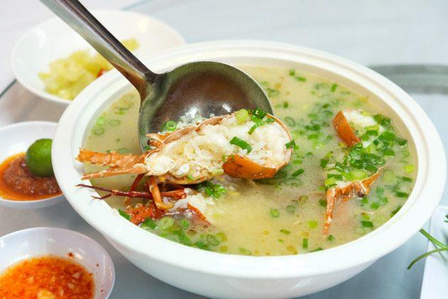 orchid live seafood lobster porridge