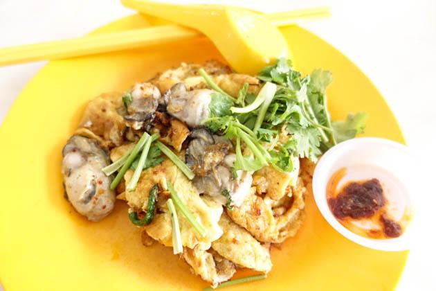 Geylang Lor29 Oyster omelette