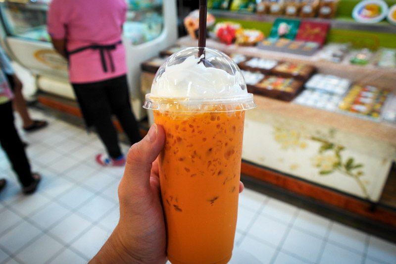bangkok thai milk tea
