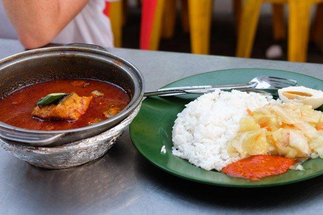 best malacca food pedas-pari