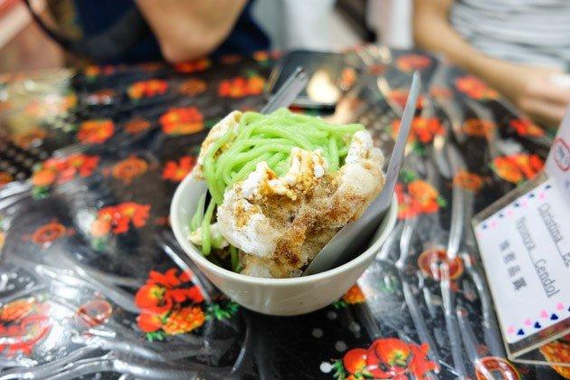 best malacca food cendol