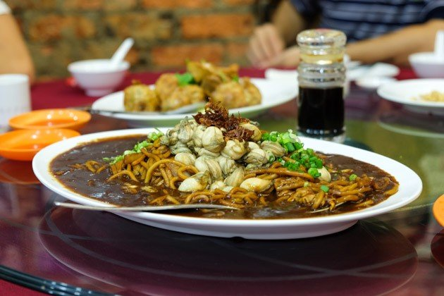 best malacca food oyster-noodles