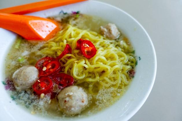 Xing Ji Rou Cuo Mian Minced Meat Noodle