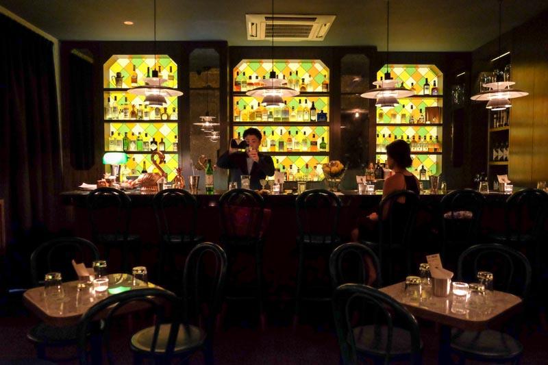 best cocktail bar singapore cocktails-gibson-interior