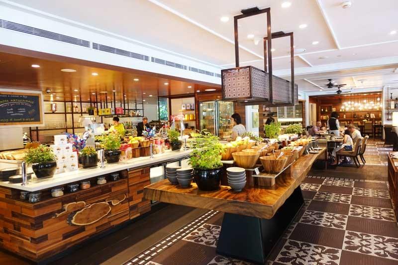 Shangri-la breakfast buffet