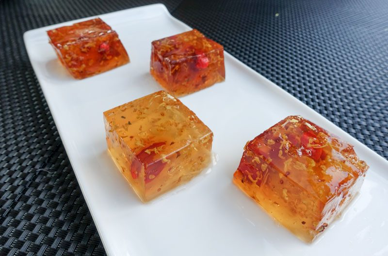 Gourmetbus Osmanthus Jelly with Wolfberry