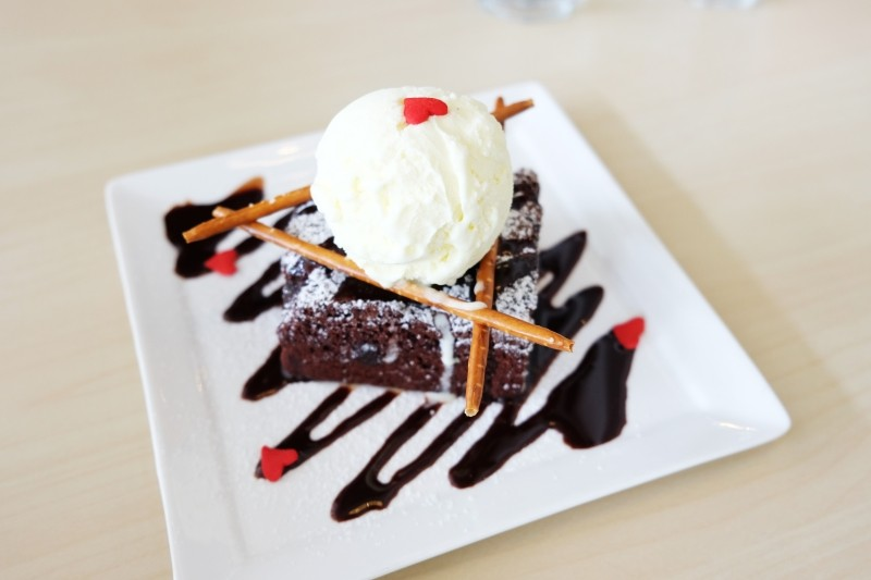 Meat and Chill Ice Cream brownie