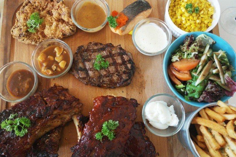 Meat and Chill Platter bukit timah