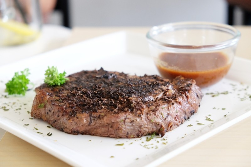 Meat and Chill Truffle Steak