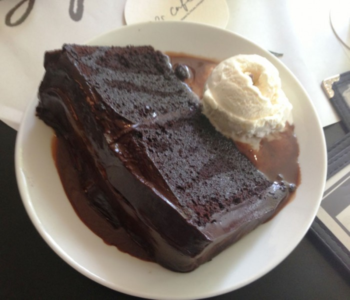 PS Cafe Harding Rd-Double Chocolate Blackout Cake