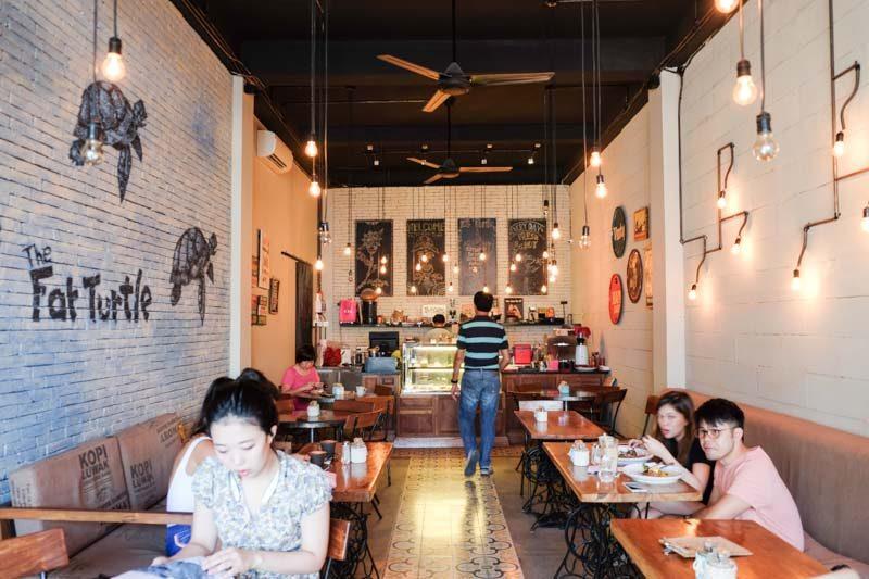 best bali cafes fatt urtle