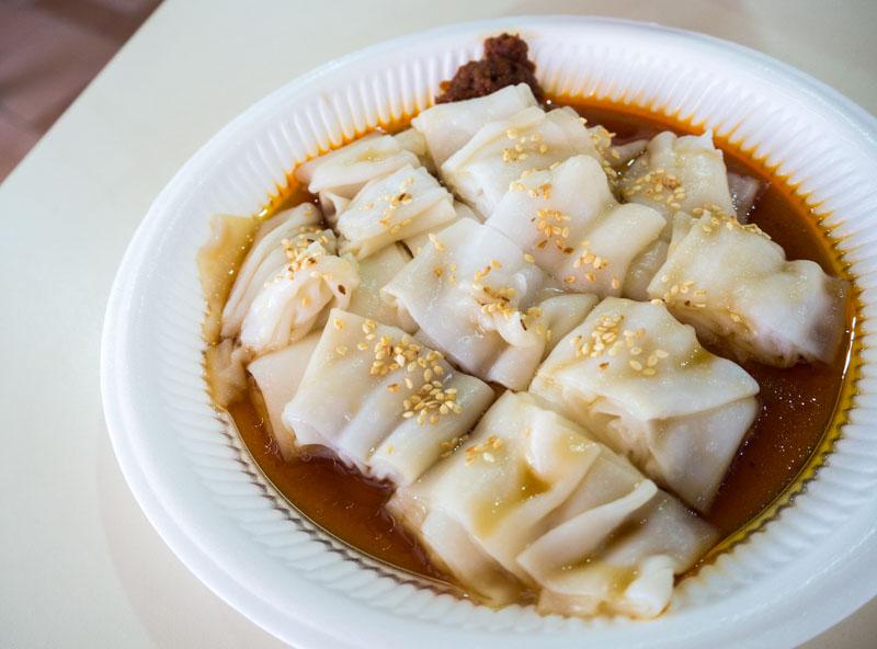 breakfastunder$2.50 - hong kong style chee cheong fun