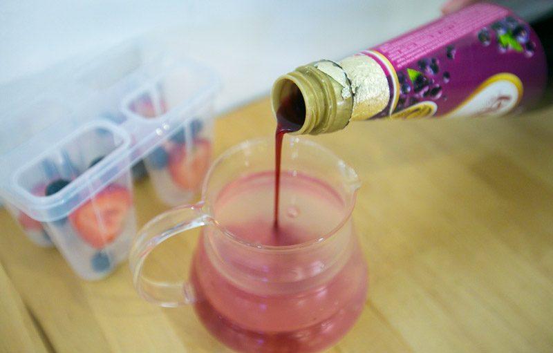 Ribena Berries Popsicle Recipe