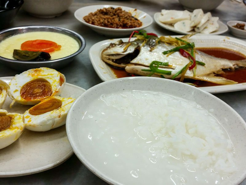 Serangoon Kovan Food Guide - heng long teochew porridge