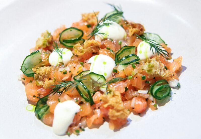 Maggie Joan's - Cured Salmon Tartare
