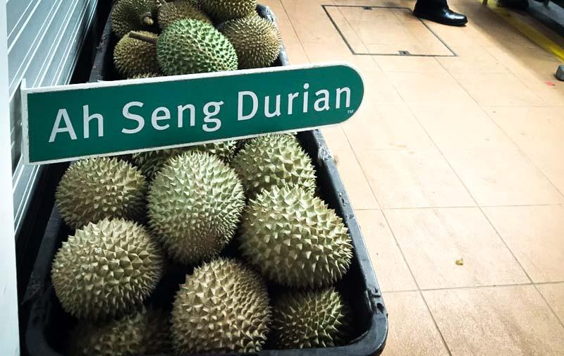 Ah Seng Durian Honest Durians