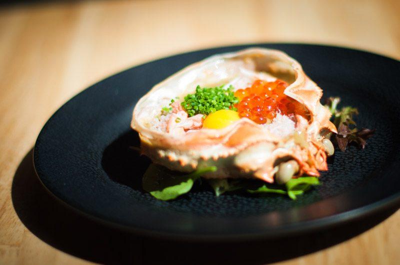 En Sakaba Crab Meat in Shell