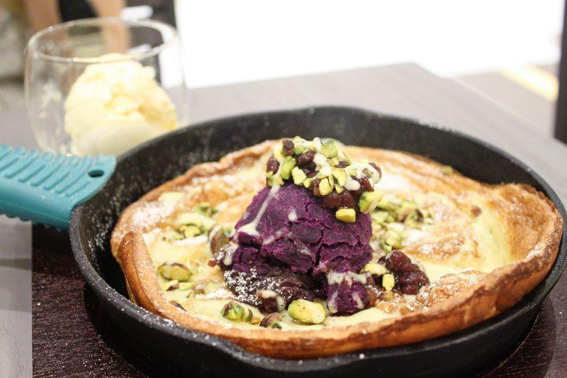 d'Good azuki matcha pancake