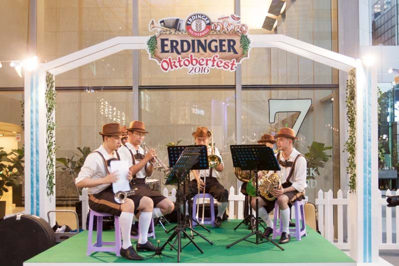 Erdinger Oktoberfest Band