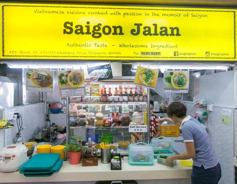 Saigon Jalan - Storefront