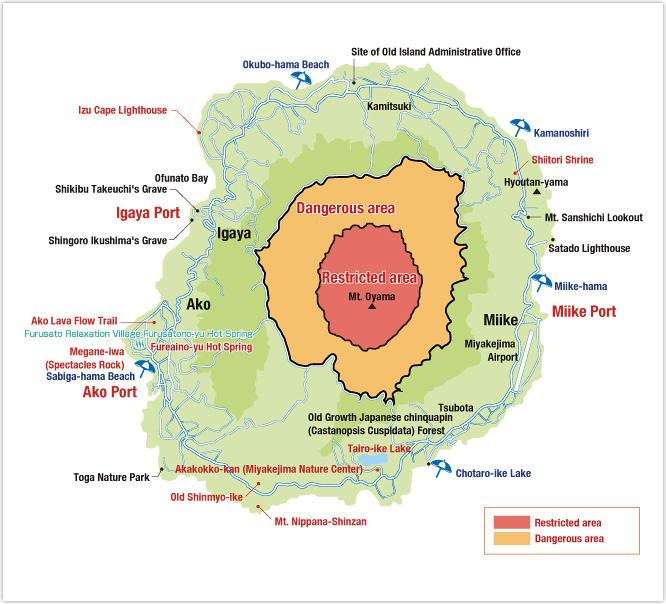 miyakejima map