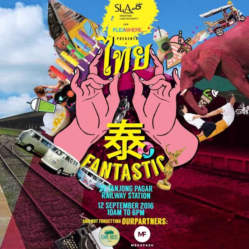 Fantastic Thai Market Poster