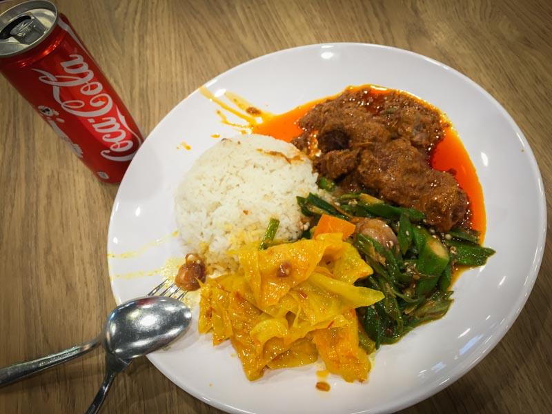 Coke Nasi Padang