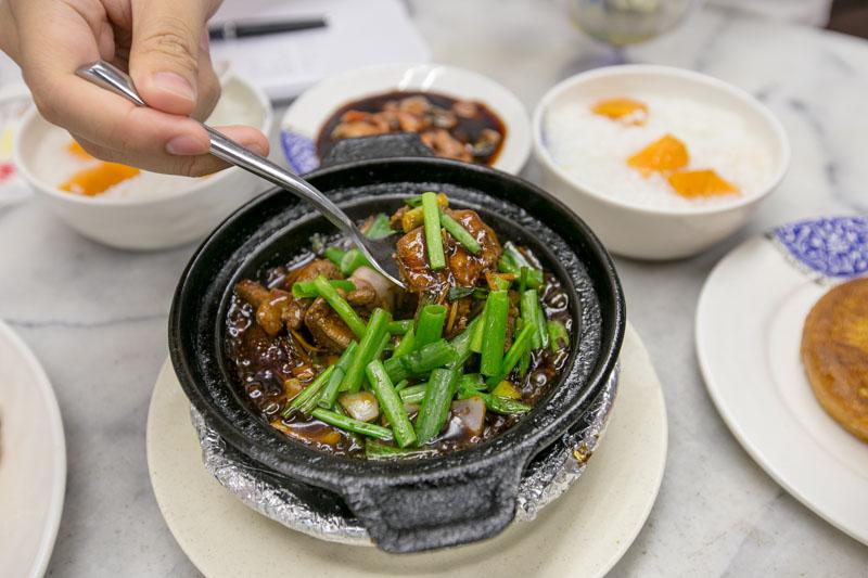 Gu Zao Ren - Pork Liver in Claypot
