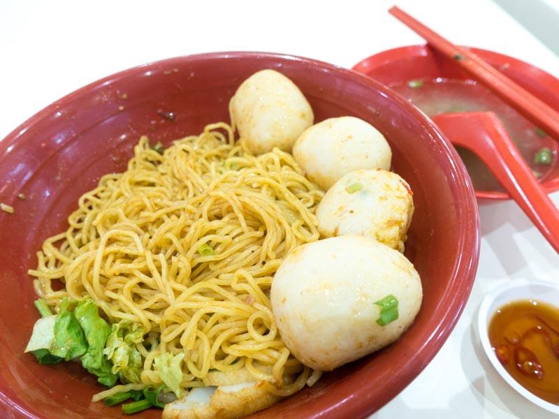 Hup Kah Noodle House - Fish Ball Noodles