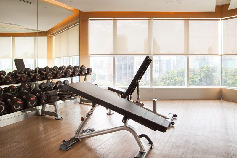 Oasia suites KL gym