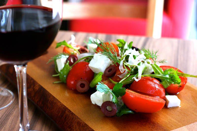 o boeuf tomato salad