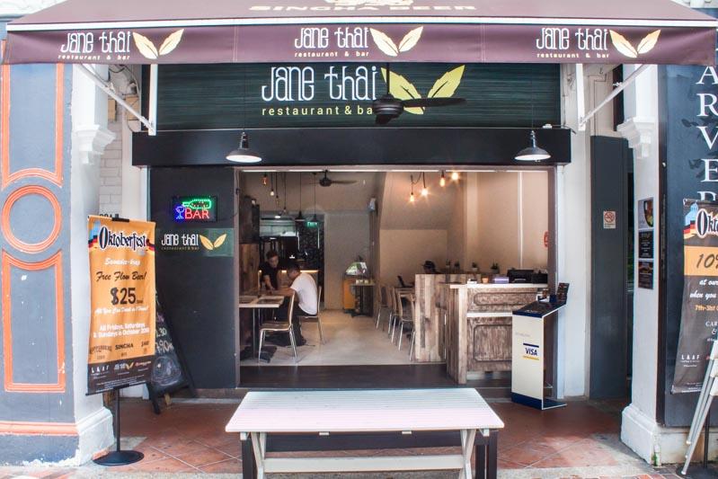 Jane Thai - Storefront