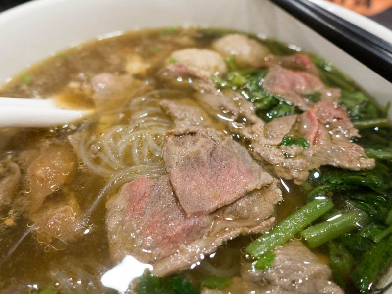 Kin Cow Thai Beef Noodles - Beef Short Rib Glass Noodle
