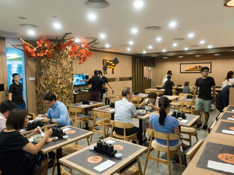 Kin Cow Thai Beef Noodles - Interior 1