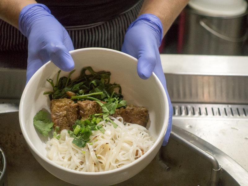 Kin Cow Thai Beef Noodles - Brisket Rice Noodles without Soup