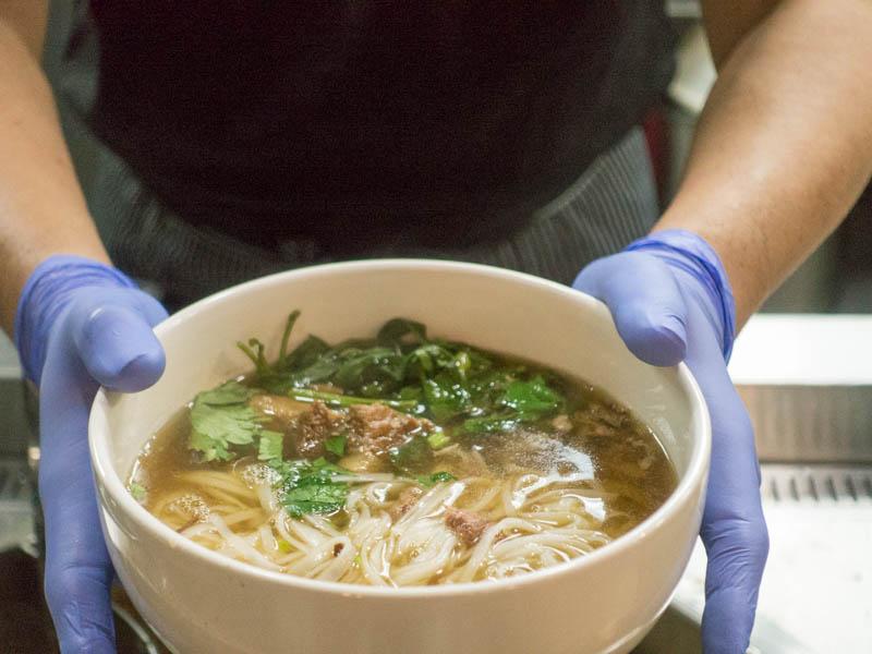 Kin Cow Thai Beef Noodles - Brisket Soup RIce Noodles