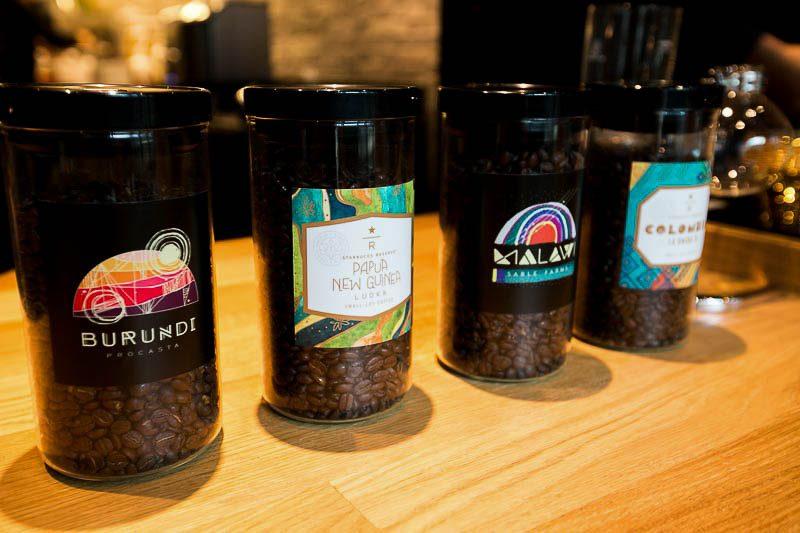 Starbucks MBS reserve coffee