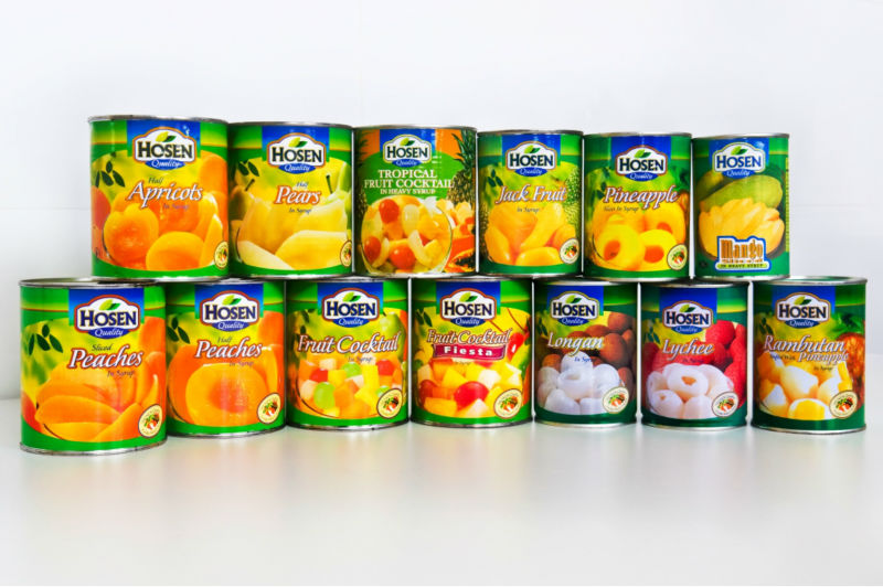 Singapore Canned Food