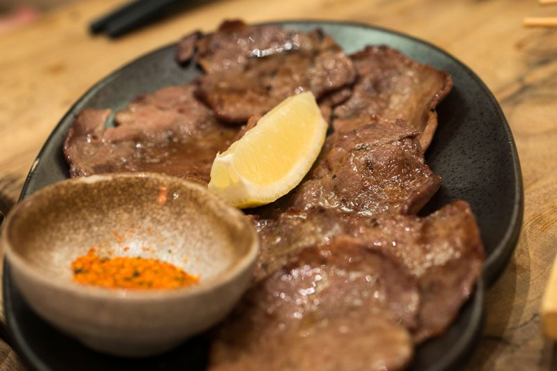 ShuKuu Izakaya - Beef tongue Kushiyaki
