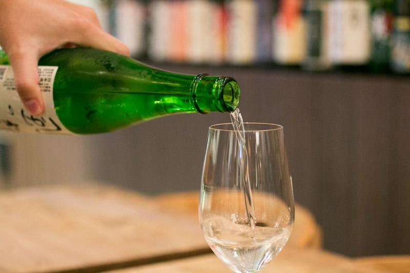 ShuKuu Izakaya - Pouring Sake