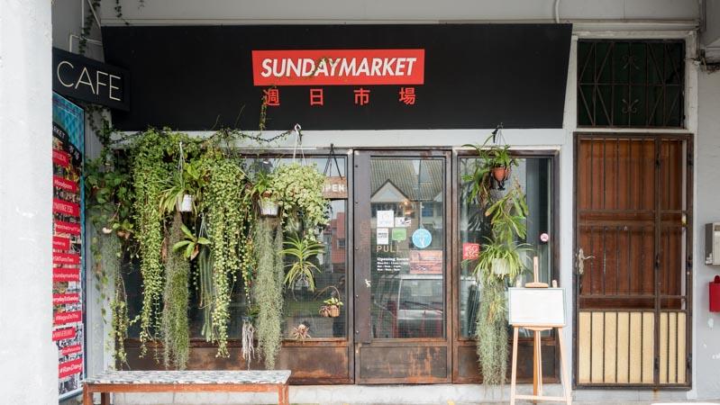Sunday Market - Storefront