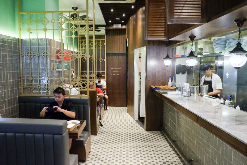 Tai cheong bakery interior