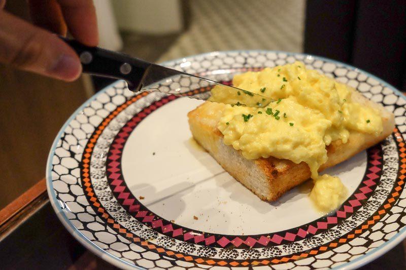 Tai cheong bakery scrambled eggs toast stack 2