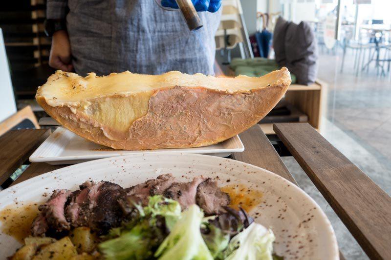 flavour flings beef steak raclette