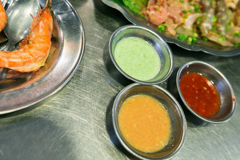 lang nuong vietnam dipping sauces